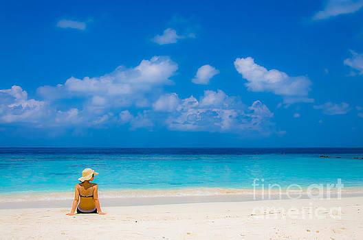 Beach Beauty by Selim Aydin