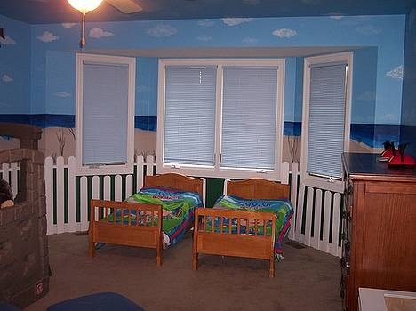 Anna Villarreal Garbis - Beach Bedroom II