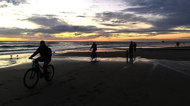 Beach Bikers by Jan Cipolla