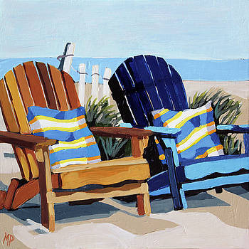Beach Blues by Melinda Patrick
