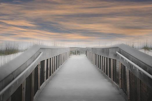 Judy Hall-Folde - Beach Boardwalk