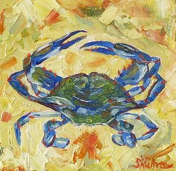Beach Bum crab by Sandra Cutrer