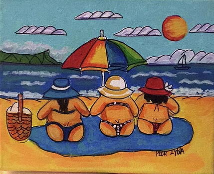 Beach Buns by Lydia Matias