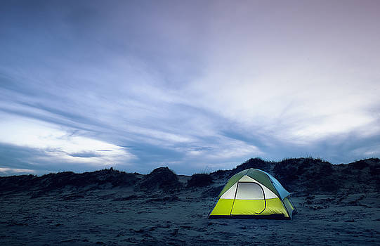 Beach Camping by Justin Carrasquillo