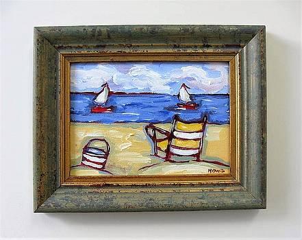 Beach Chair by Brooke Baxter Howie
