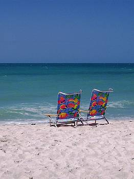 Beach Chairs by Anna Villarreal Garbis