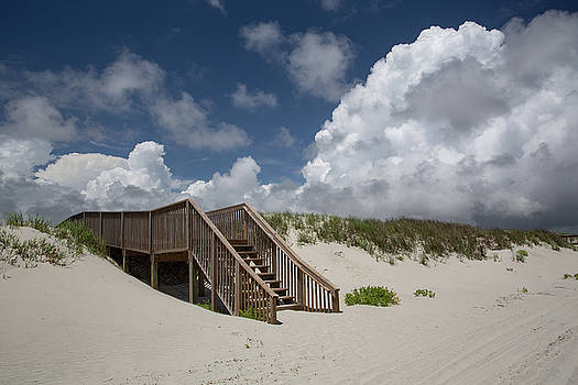 Beach Clouds by Jim Neal