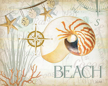 Beach Collage by Grace Pullen