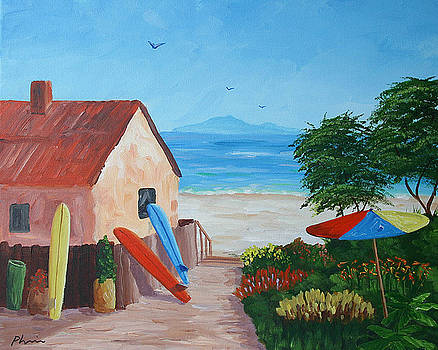 Beach Colors by Bob Phillips