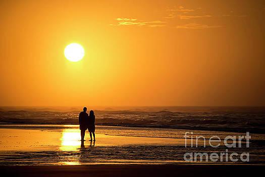 Beach Couple by Diane LaPreta