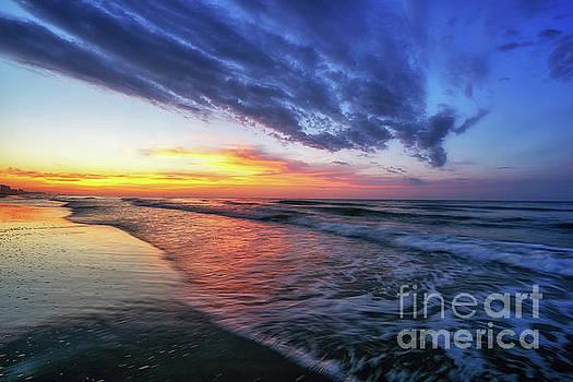 Beach Cove Sunrise by David Smith