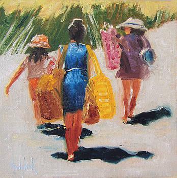 Beach Day by Barbara Andolsek