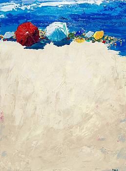 Beach Day by John Ellis