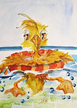 Beach Duck by Delilah  Smith