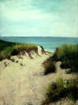 Beach Dunes by Cindy Plutnicki