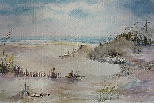 Beach Fence by Dorothy Herron