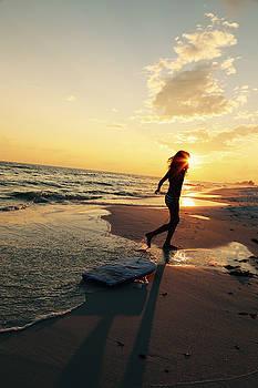 Beach Fun 3 by Jim Clark