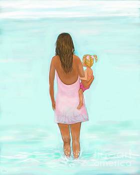 Beach Fun With Mommy by Leslie Allen