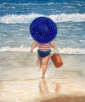 Beach Girl by Sharon Gerber