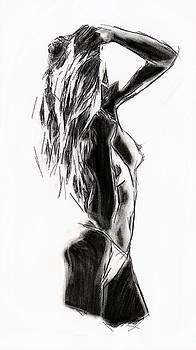Beach Girl by Steve K