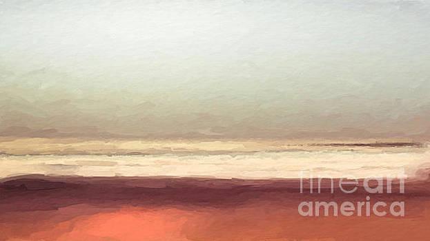 Beach Hazy Sunny mornning by Anthony Fishburne