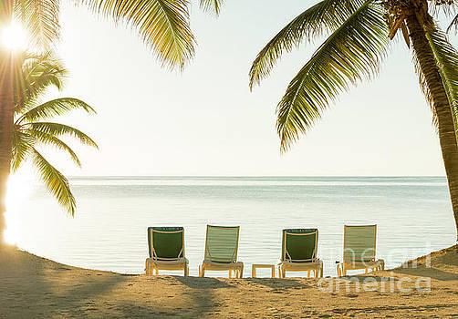 Tim Hester - Beach Holiday Deckchairs