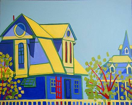 Beach Houses by Debra Bretton Robinson