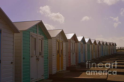 Beach Huts by Andy Thompson