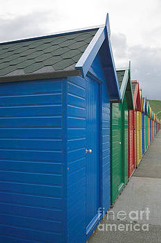 Beach huts by Deborah Benbrook