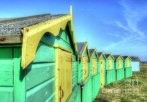 Beach Huts by Geoff Smith