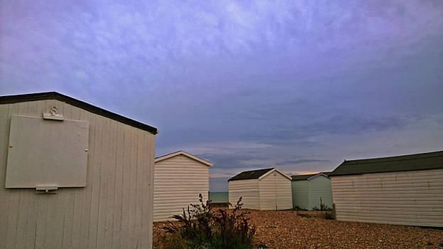Beach Huts Shoreham by Anne Kotan