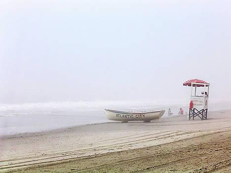 Beach in the Fog by Kelly Lucero