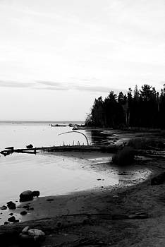 Beach in the U.P. 2 by Lisa M Smith