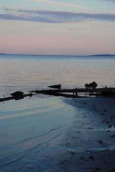 Beach in the U.P. 4 by Lisa M Smith