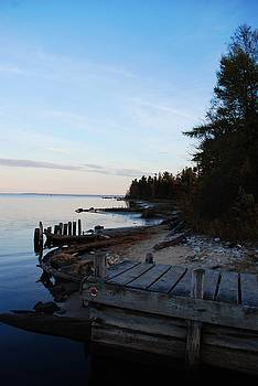 Beach in the U.P. by Lisa M Smith