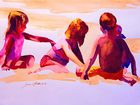 Beach Kids by Julianne Felton