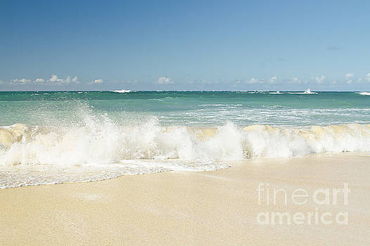 Beach Love Shoreline Serenity by Sharon Mau
