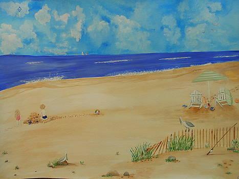 Beach Memories by Barbara McNeil