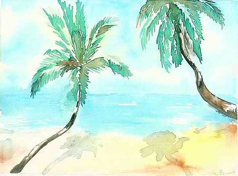 Beach by Mousumi Mani
