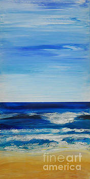 Beach Ocean Sky by Shelley Myers
