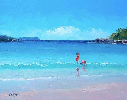 Jan Matson - Beach painting - A Sea Breeze