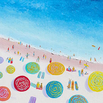 Jan Matson - Beach Painting - Beach Bliss