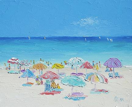 Jan Matson - Beach Painting - Summer Paradise