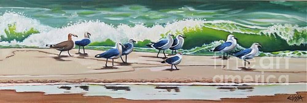 Beach Patrol by Elissa Anthony