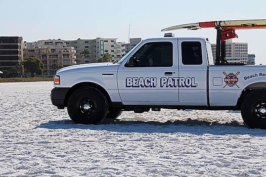 Beach Patrol by Michiale Schneider