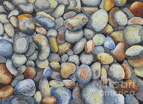Beach Pebbles by Jackie Kirby