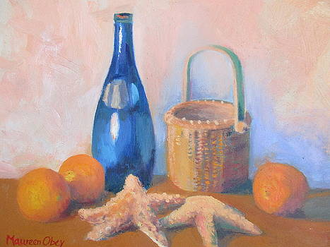 Beach Picnic by Maureen Obey