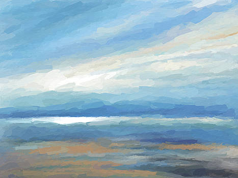 Beach reflection  by Anthony Fishburne
