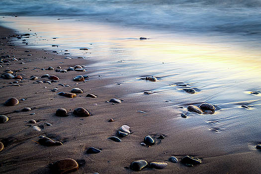 Beach Reflection by Ashleigh Mowers
