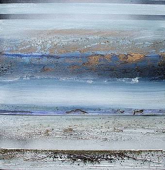 Beach Rythms and textures  Northumberland Coast no5 by Mike   Bell